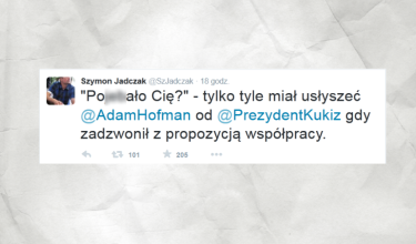 Paweł Kukiz mistrzem ciętej riposty?