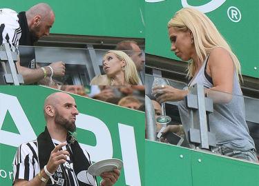 Doda i Gortat na meczu Lechii z Juventusem (ZDJĘCIA)