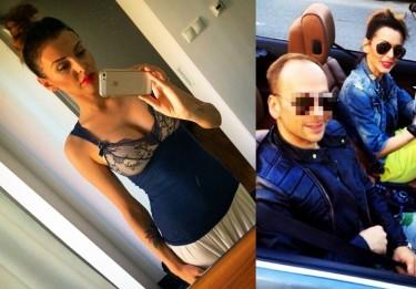 Kochanka Dariusza K. pozuje w piżamie przed lustrem! (FOTO)