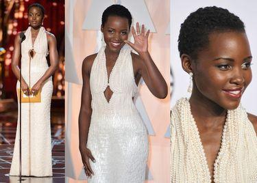 Skradziono oscarową suknię Lupity N'yongo!