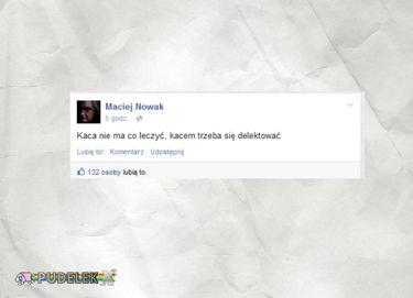 Maciej Nowak o kacu