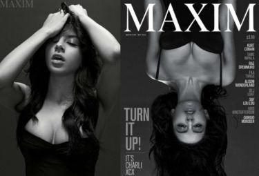 Charli XCX pozuje dla magazynu