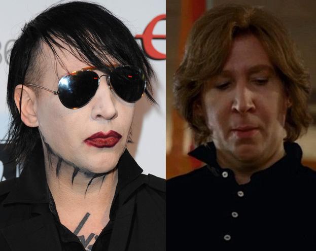 Marilyn Manson BEZ MAKIJAŻU! Poznajecie? (ZDJĘCIA)
