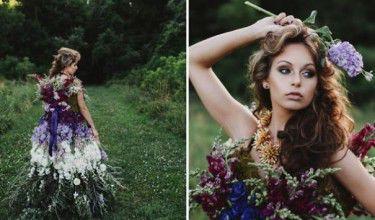 Stworzyli kopię sukni Alexandra McQueena... z kwiatów!