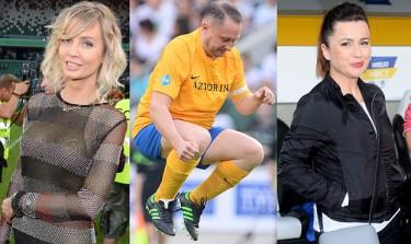 Gwiazdy na meczu TVP vs. TVN! (ZDJĘCIA)