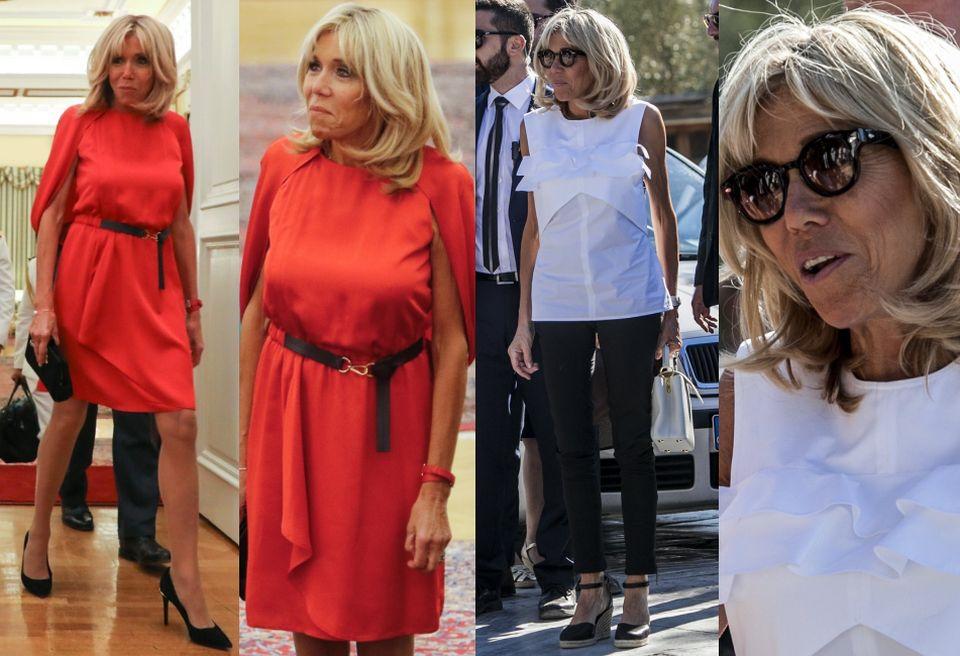 Brigitte Macron w Grecji