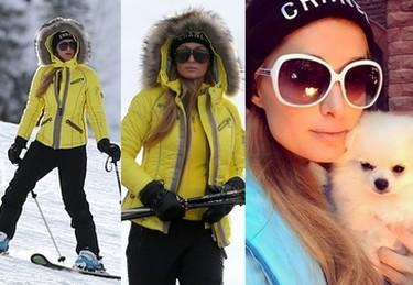 Paris Hilton wypoczywa na nartach (ZDJĘCIA)