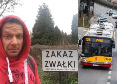 """Kierowca warszawskiego autobusu do Grzegorza Małeckiego: """"Jesteś żadnym """"panem"""", tylko zwykłą kur**, kurwo je**na"""""""