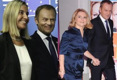 Europejskie media o Tusku i Mogherini: