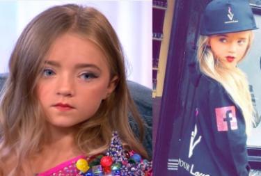 """7-latka wysmarowana samoopalaczem i W PEŁNYM MAKIJAŻU zszokowała widzów brytyjskiej śniadaniówki. """"Wyglądała jak STRIPTIZERKA!"""""""