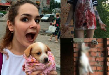 Dwie Rosjanki chwaliły się w Internecie zdjęciami torturowanych zwierząt!