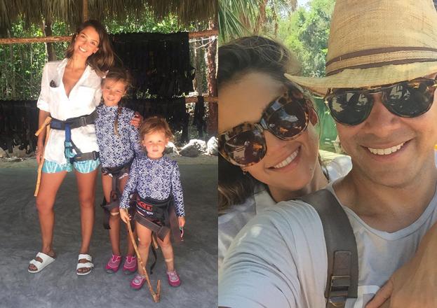 Jessica Alba spędza wakacje w Meksyku (FOTO)