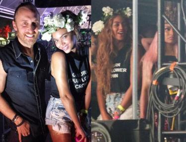 Beyonce w szortach i wianku na Festiwalu Coachella (ZDJĘCIA)