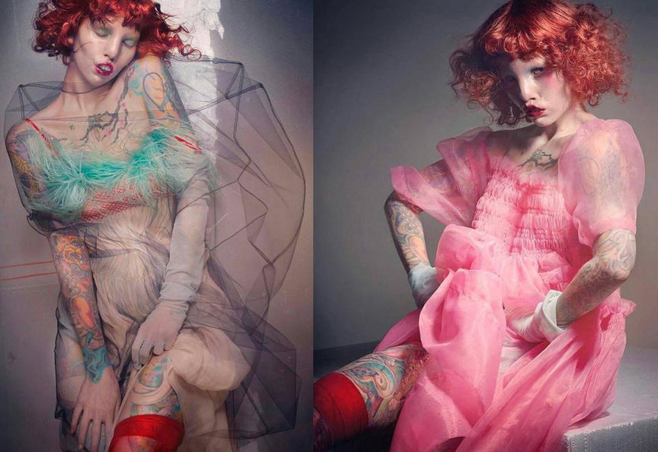 "Caitin Stickels - modelka z ""syndromem kociego oka"""