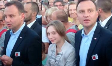 Andrzej Duda śpiewa powstańcze piosenki