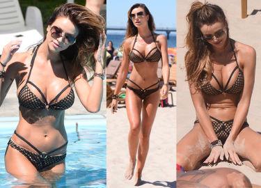 Pietrasińska w bikini na plaży w Międzyzdrojach... (ZDJĘCIA)
