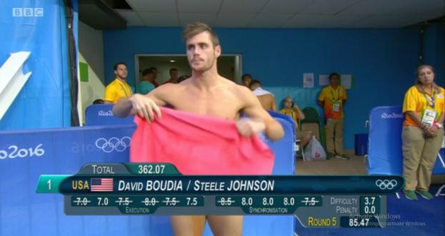 Голые спортсмены на олимпиаде