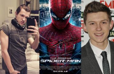 Oto Tom Holland, nowy Spider-Man! (ZDJĘCIA)
