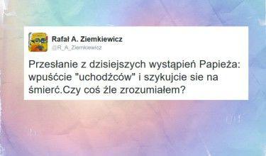 """Ziemkiewicz podsumował słowa Franciszka: """"Szykujcie sie na śmierć"""""""