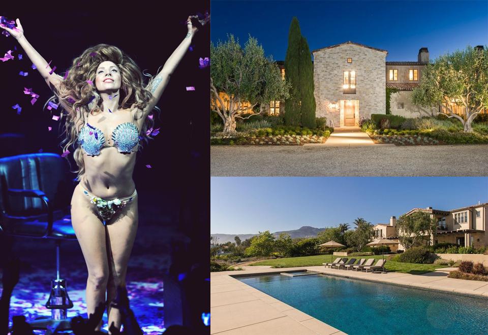 Lady Gaga - dom wart ponad 85,9 miliona złotych
