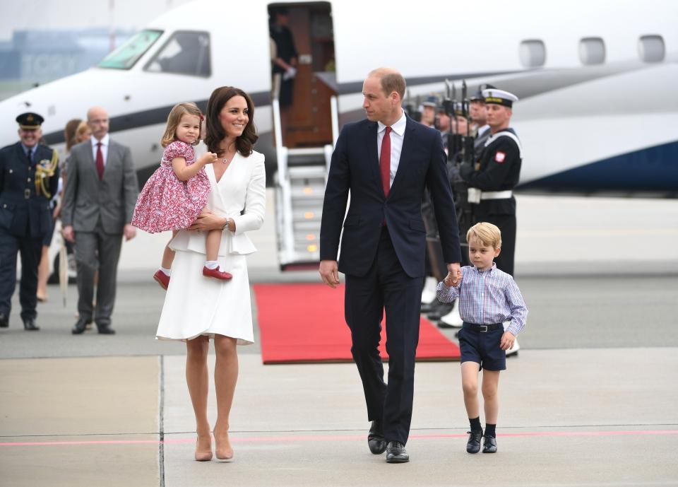 Kate i William są już w Polsce