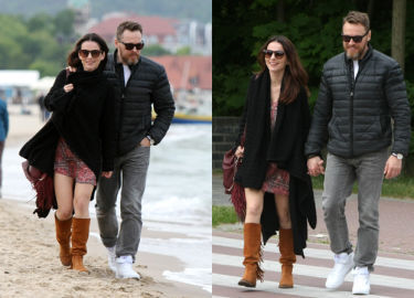 Paulina Sykut na plaży z mężem (ZDJĘCIA)
