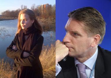 """Tomasz Lis zrobił zdjęcie córce: """"I oto wyłoniła się z Wisły"""""""