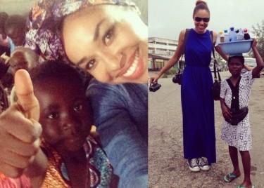 Omenaa Mensah chce wybudować szkołę w Ghanie!