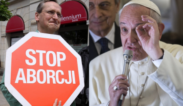 """Papież pozwolił na ROZGRZESZENIE ABORCJI. """"Od grudnia każdy kapłan będzie mógł to zrobić"""""""
