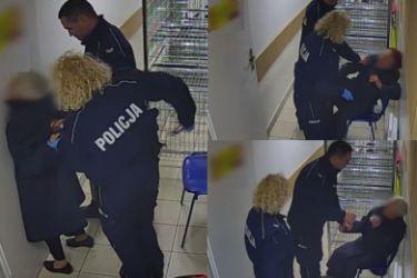 82-letnia kobieta została DOTKLIWIE POBITA przez FUNKCJONARIUSZY POLICJI! (WIDEO)