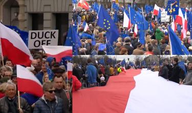 """""""Marsz dla Europy"""" przeszedł przez Warszawę. """"UE jest tym, co nas wszystkich łączy"""""""