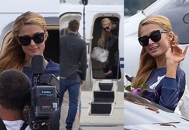 Paris Hilton przyleciała do Polski! (ZDJĘCIA)