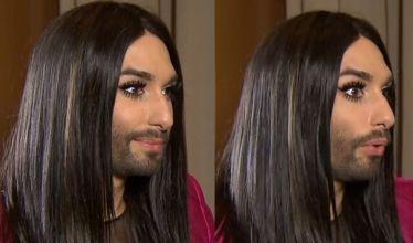 Conchita o swojej brodzie w TVN: