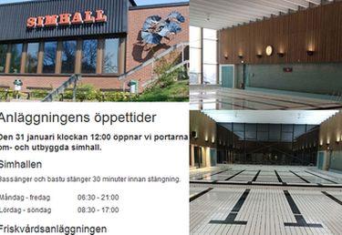Na szwedzkim basenie powstała przebieralnia...