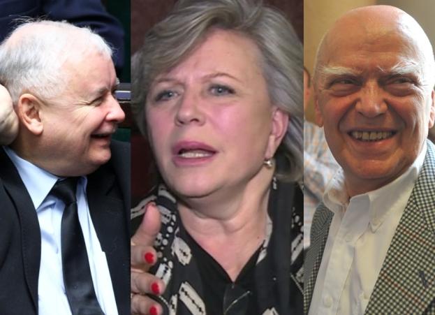 """Janda o rządach Kaczyńskiego i wierszach Rymkiewicza: """"Czuję, jakby ktoś na mnie s*ał po prostu cały czas!"""""""
