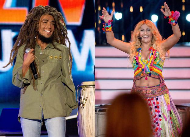 Shakira i Bob Marley w