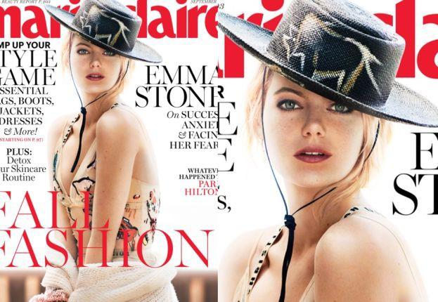 """Emma Stone na okładce """"Marie Claire"""""""