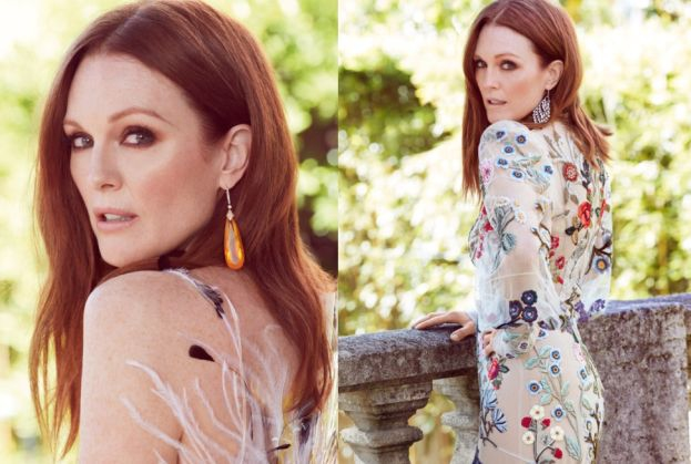 "Julianne Moore pozuje dla ""Vogue'a"""