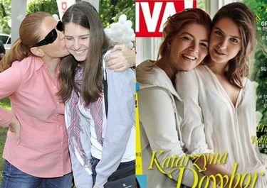 Katarzyna Dowbor z córką na okładce!