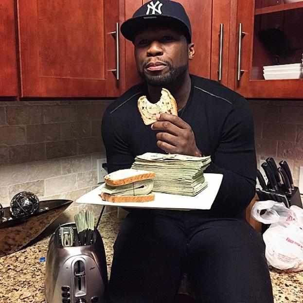 50 Cent wyznał, że pozował z fałszywymi pieniędzmi!
