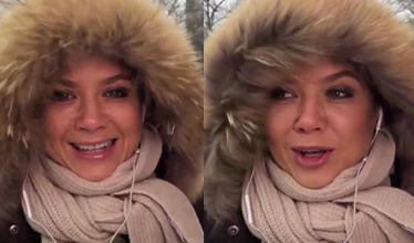 Rusin o burzy śnieżnej w Nowym Jorku: