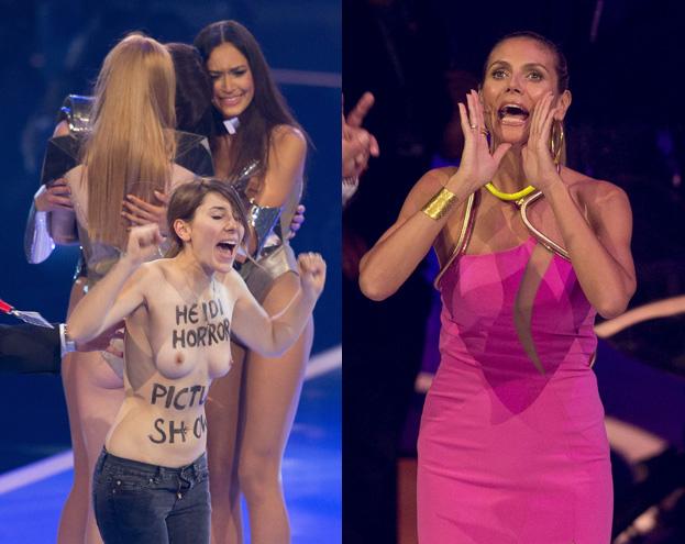 <b>NAGIE</b> PIERSI w finale niemieckiego &quot;Top model&quot;! (FOTO)