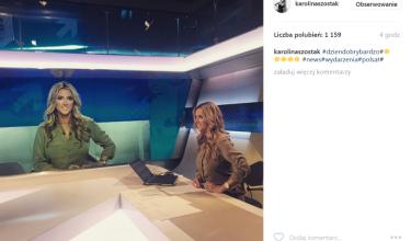 Karolina Szostak chwali się powrotem do telewizji