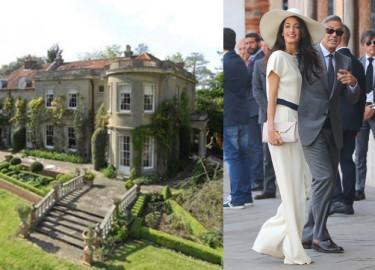 George Clooney zamieszkał z żoną w zamku! ZOBACZCIE ZDJĘCIA!