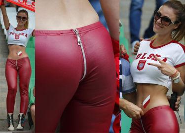 """Nowa """"Miss Euro"""" z suwakiem na pupie… Seksowna? (ZDJĘCIA)"""