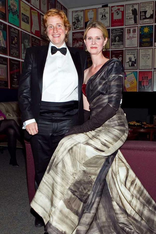 Cynthia Nixon z partnerka