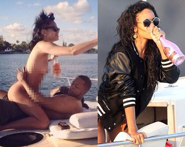 Chris brauner Sex mit Rihanna