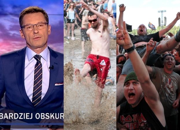 """""""Wiadomości"""" o Woodstocku: """"NAJBARDZIEJ OBSKURNY festiwal świata"""""""