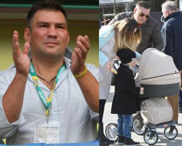 Michalczewski ochrzcił córkę