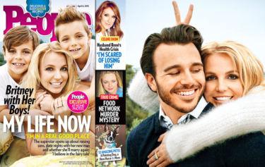 Britney z dziećmi i kochankiem w magazynie